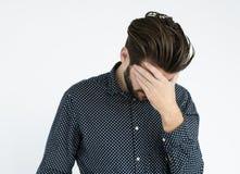 Businessman Adult Portrait Occupation Concept Stock Image