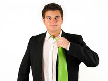 Businessman afret work Stock Photo
