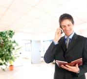 Businessman agenda Royalty Free Stock Image