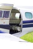 Businessman airplane - jet Stock Photo