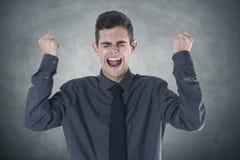 Businessman anger Royalty Free Stock Photos