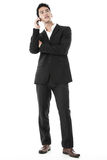 Businessman answering a call Royalty Free Stock Photography