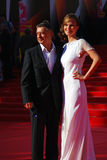 Businessman Anton Tabakov at Moscow Film Festival. Former actor, businessman Anton Tabakov at XXXV Moscow International Film Festival red carpet opening ceremony Stock Photo