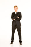 Businessman with arms crossed Stock Photo