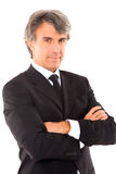 Businessman with arms crossed Royalty Free Stock Photos