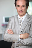 Businessman with arms crossed Royalty Free Stock Photography