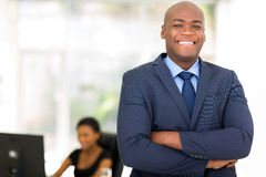 Businessman arms crossed Royalty Free Stock Image