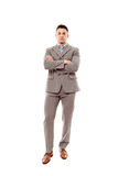 Businessman with arms folded Royalty Free Stock Photo