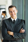 businessman arms folded Stock Photo