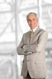 Businessman With Arms Folded Royalty Free Stock Photos