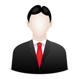 Businessman avatar Royalty Free Stock Image