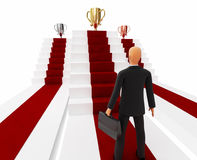 Businessman award concept. 3d high quality render Stock Photo
