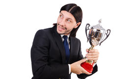 Businessman awarded Royalty Free Stock Image
