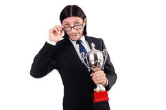 Businessman awarded Stock Images