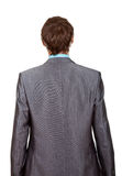 Businessman back Stock Photography