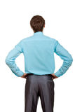 Businessman back Royalty Free Stock Photo