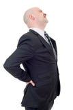 Businessman back pain Stock Photo