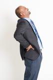 Businessman backpain Stock Photos