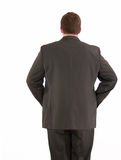 Businessman backside Royalty Free Stock Image