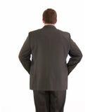 Businessman backside royalty free stock image