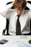 The businessman -  bankrupt Stock Images