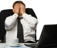 The businessman -  bankrupt Royalty Free Stock Image