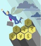 Businessman bee stock illustration