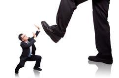 Businessman beg