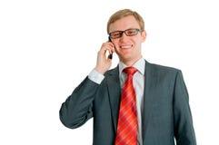 The businessman behind job Royalty Free Stock Photo