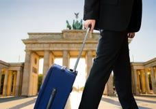 Businessman in berlin city Stock Photos