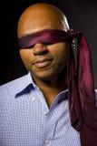 Businessman Blindfolded Royalty Free Stock Image