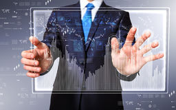 Technology in business Stock Image