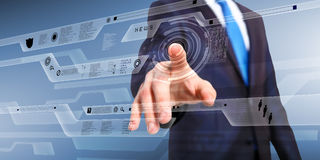 Technology in business Stock Photos