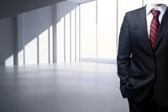 Businessman body in interior Stock Photos