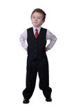 Businessman boy Royalty Free Stock Photos