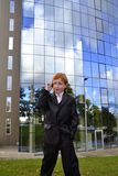Businessman boy Royalty Free Stock Images