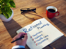 Free Businessman Brainstorming With Retirement Planning Royalty Free Stock Photo - 43888165