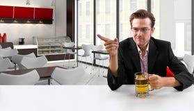 Businessman on Break Stock Photo