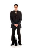 Businessman briefcase Royalty Free Stock Photo