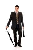 Businessman briefcase Stock Image