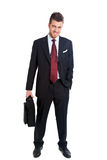 Businessman briefcase Stock Photos