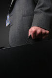Businessman briefcase Royalty Free Stock Image