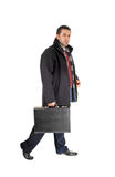 Businessman with briefcase. Stock Images