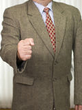 Businessman in business attire Stock Image