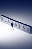 Businessman business B Stock Photo