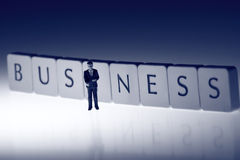 Businessman business A Stock Photos