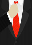 Businessman. A business man with a red tie Royalty Free Illustration