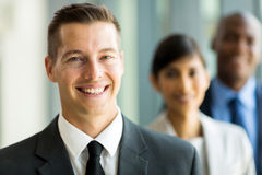 Businessman business team Stock Photography