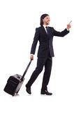 Businessman on business Royalty Free Stock Photography