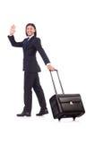 Businessman on business Stock Photo